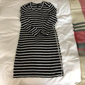 J.Crew striped dress